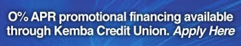0% APR Financing with Kemba Credit Union